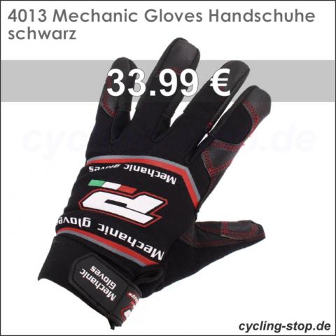 4013 Mechanic Gloves Handschuhe schwarz